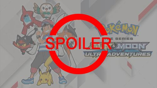 Spoiler z Pokémon Sun & Moon: Ultra Adventures!