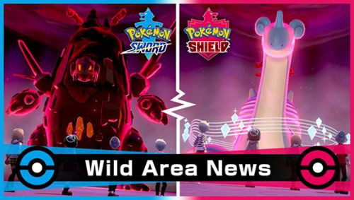Pokémon Sword and Shield - Event s Gigantamax Pokémony v raidech